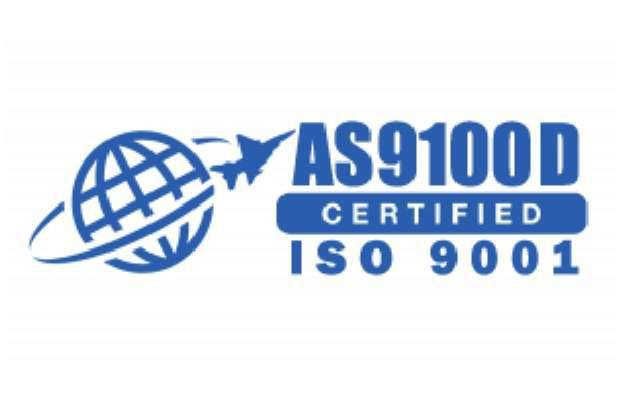 AS9100D Certified ISO 9001
