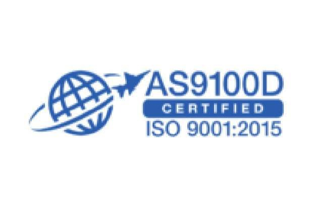 AS9100D Certified ISO 9001 - 2015